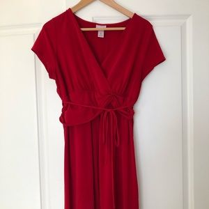 Red Maternity Dress (5 for $15)
